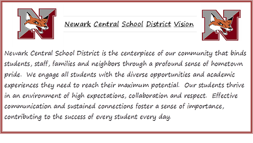 Newark Central School District Is The Centerpiece Of Our Community That Binds Students Staff