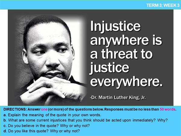 injustice anywhere is a threat to justice everywhere meaning